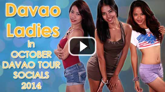 Series of women attending the DAVAO OCTOBER SOCIALS PARTY Part 5